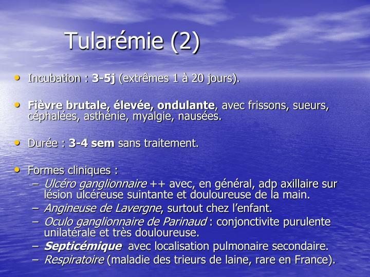 Tularémie (2)