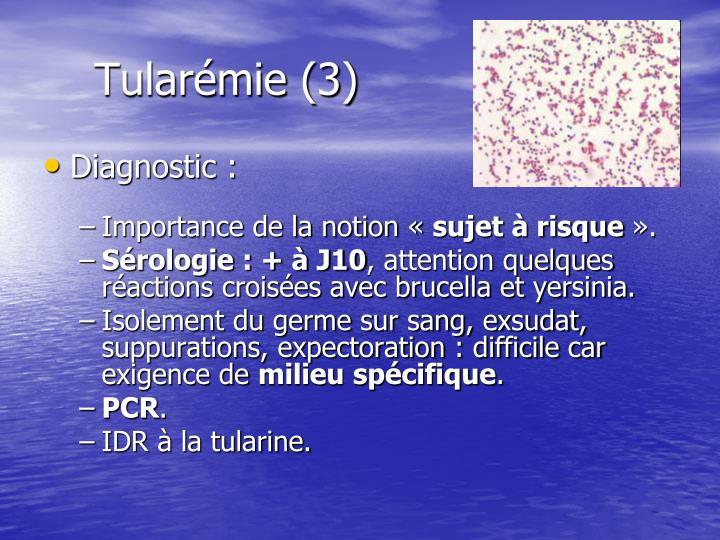 Tularémie (3)