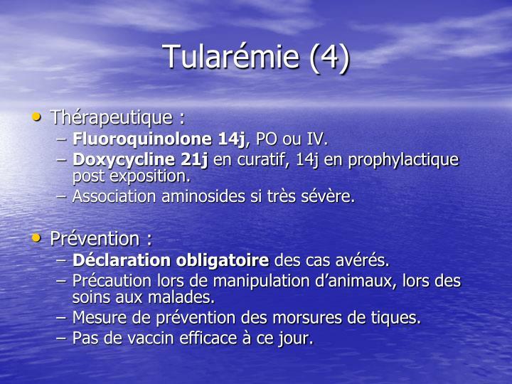 Tularémie (4)