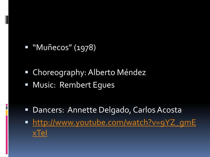 """Muñecos"" (1978)"