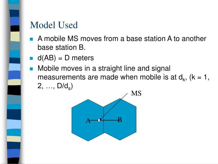 Model Used