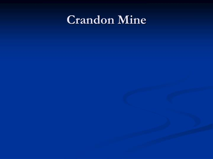 Crandon Mine