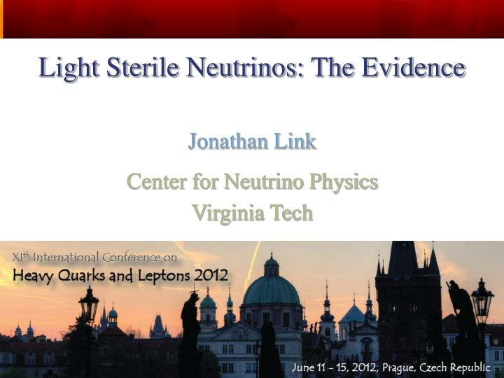 Light Sterile Neutrinos: The Evidence