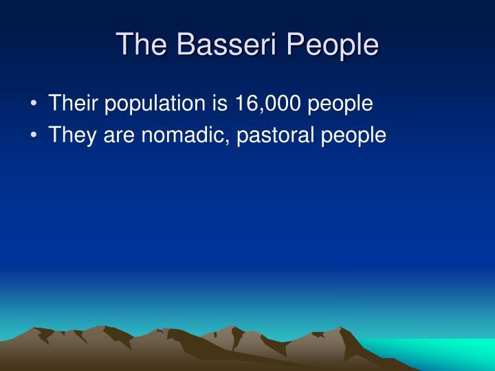 The Basseri People