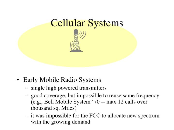 Cellular Systems