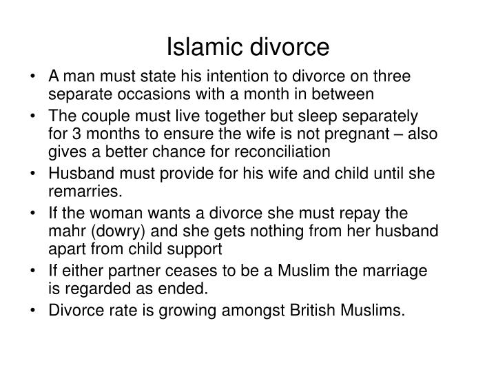 Islamic divorce
