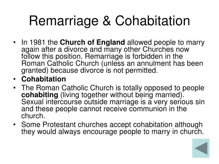 Remarriage & Cohabitation