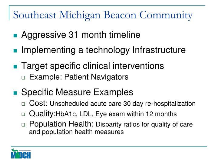 Southeast Michigan Beacon Community