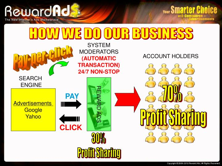 HOW WE DO OUR BUSINESS