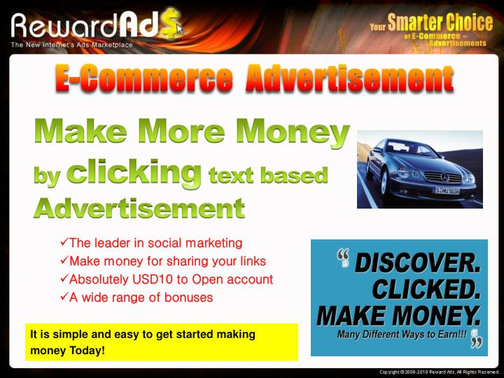 E-Commerce  Advertisement
