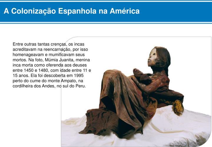 A Colonização Espanhola na América