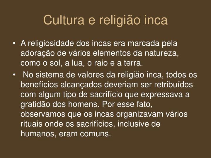 Cultura e religião inca