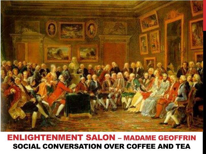 Enlightenment salon