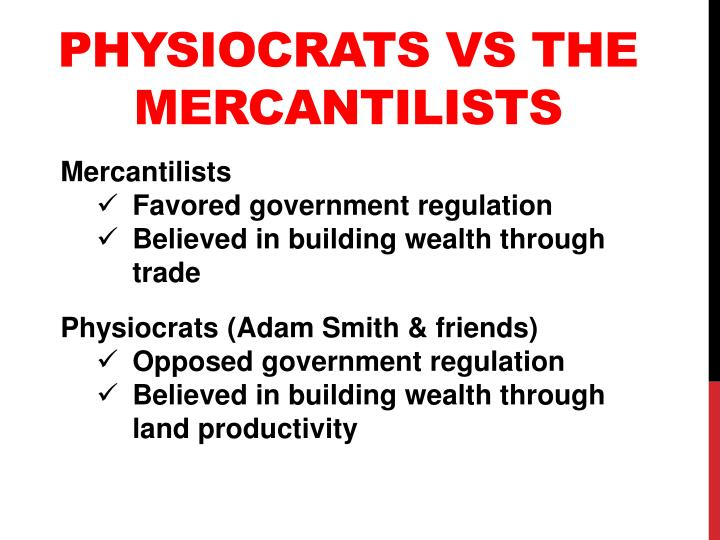 Physiocrats