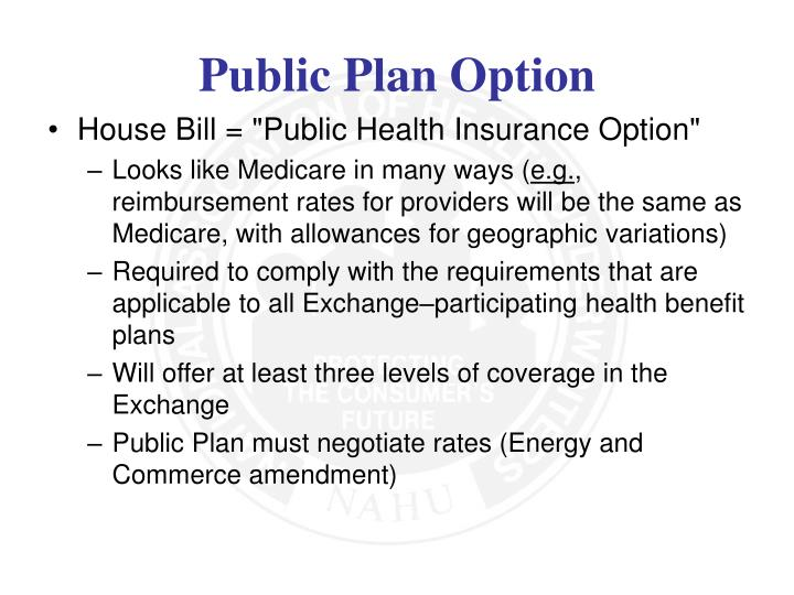"House Bill = ""Public Health Insurance Option"""