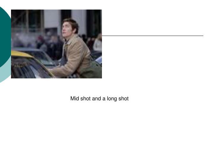 Mid shot and a long shot