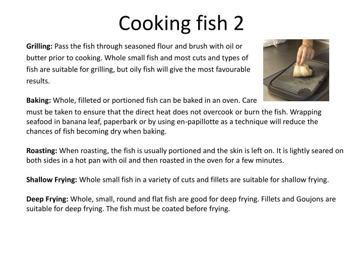 Cooking fish 2
