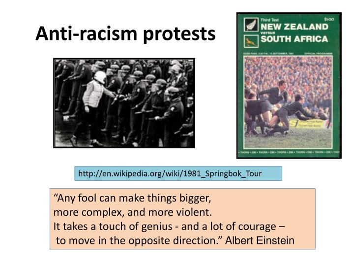 Anti-racism protests