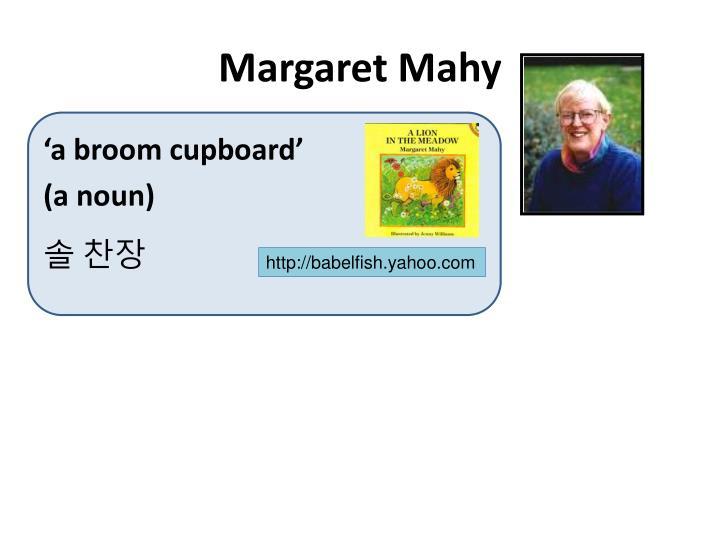 Margaret Mahy