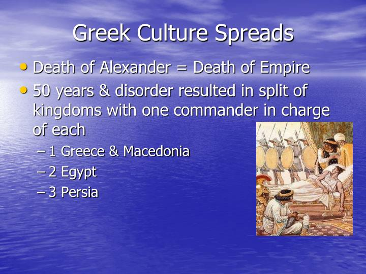 Greek Culture Spreads