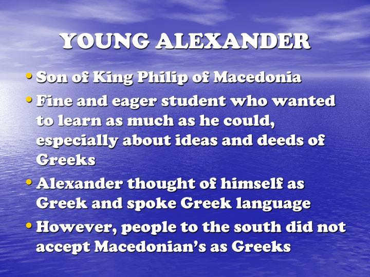 YOUNG ALEXANDER
