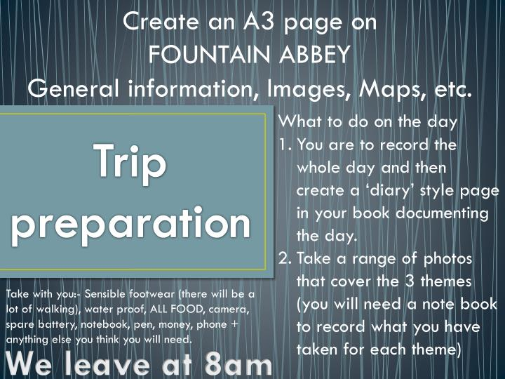 Create an A3 page on