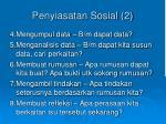 penyiasatan sosial 2