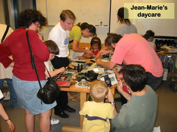Jean-Marie's daycare