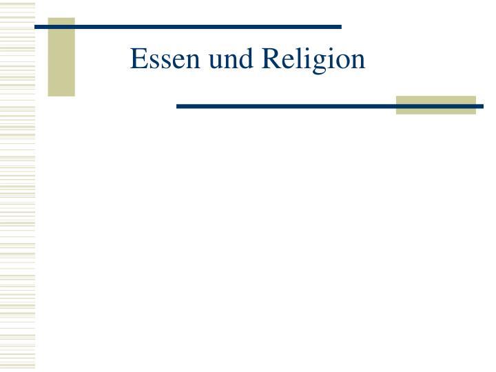 Essen und Religion