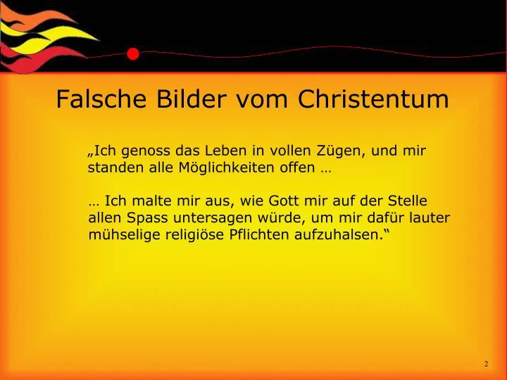 Falsche Bilder vom Christentum