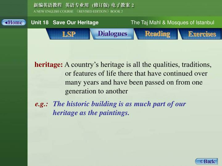 Dialogue_words 1_heritage