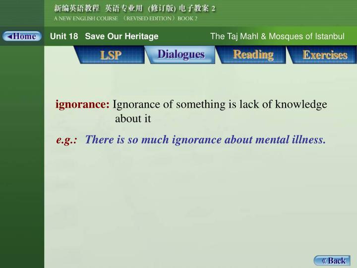 Dialogue_words 1_ignorance