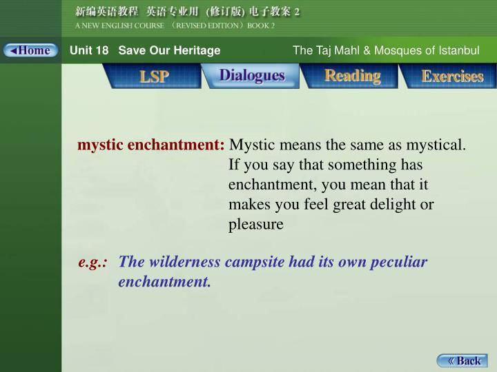 Dialogues_Notes 1_mystic enchantment