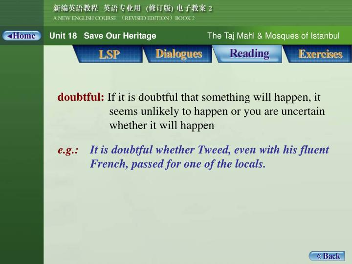 Reading_Words 1_doubtful