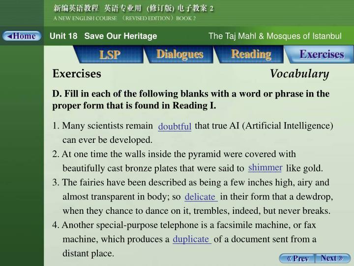Vocabulary 3_1