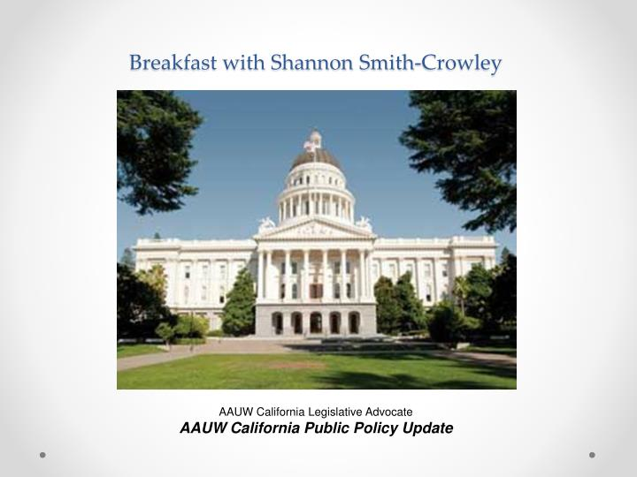 breakfast with shannon smith crowley