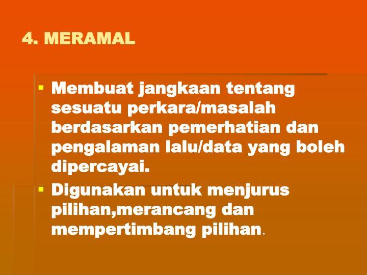 4. MERAMAL