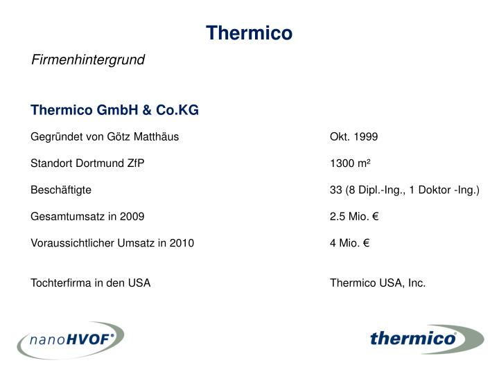 Thermico GmbH & Co.KG