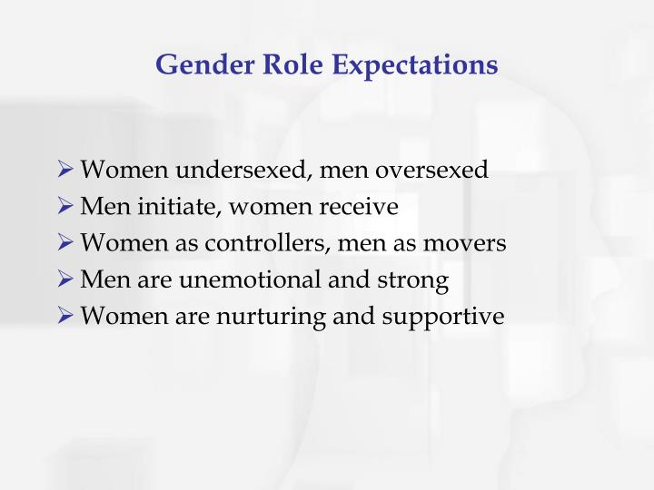 Gender Role Expectations