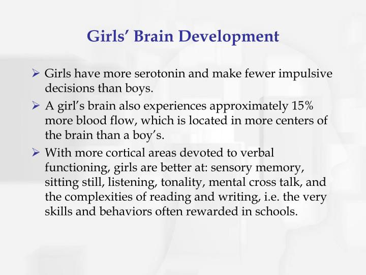 Girls' Brain Development