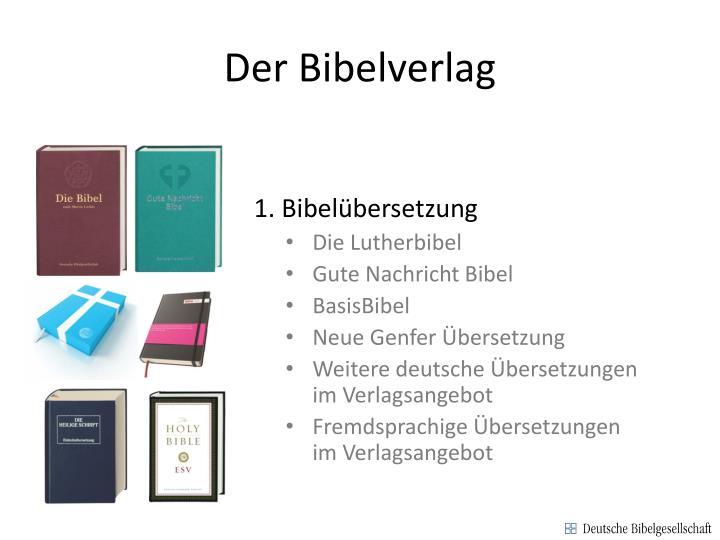 Der Bibelverlag