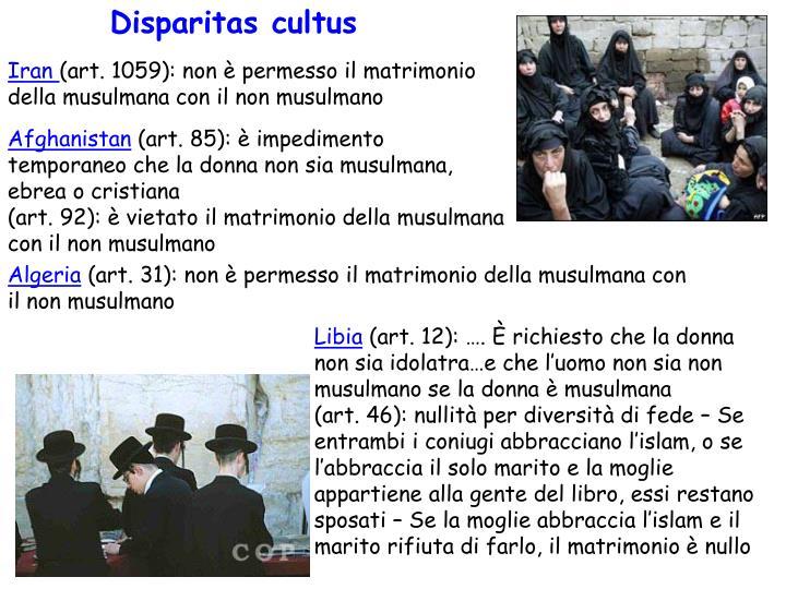 Disparitas cultus