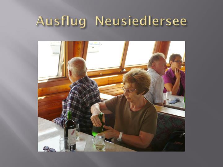 Ausflug  Neusiedlersee