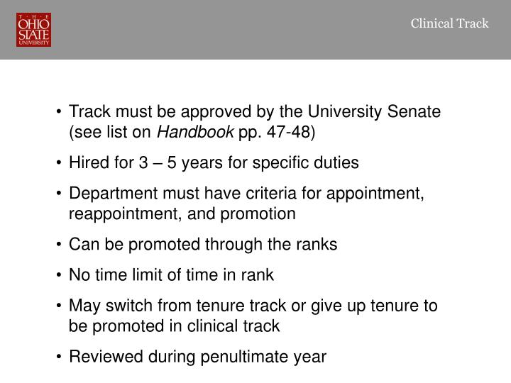 Clinical Track