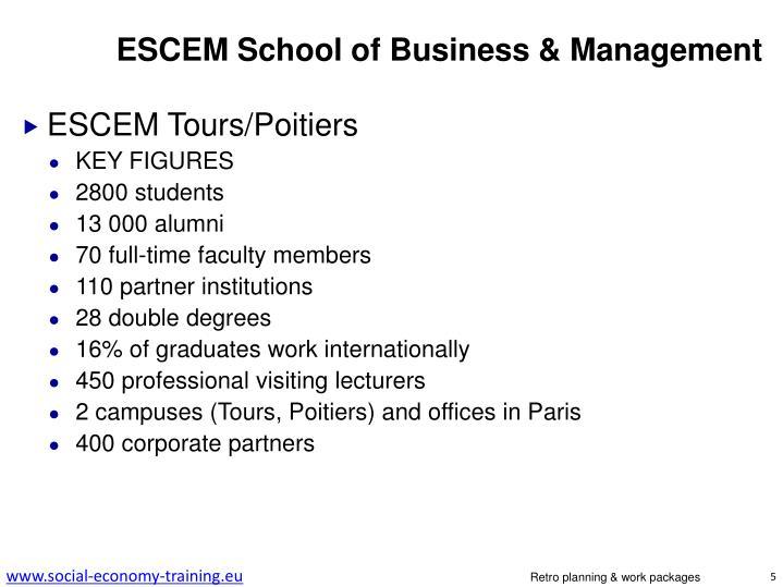 ESCEM School of Business & Management