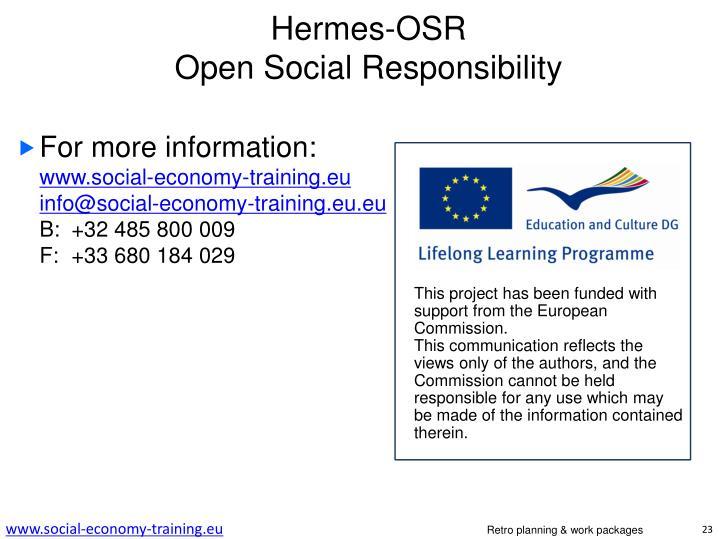 Hermes-OSR