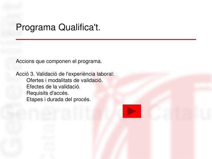 Programa Qualifica't.
