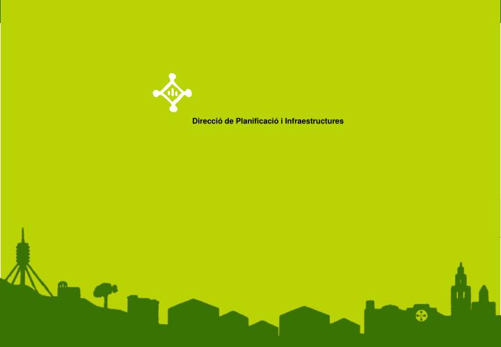 Direcció de Planificació i Infraestructures
