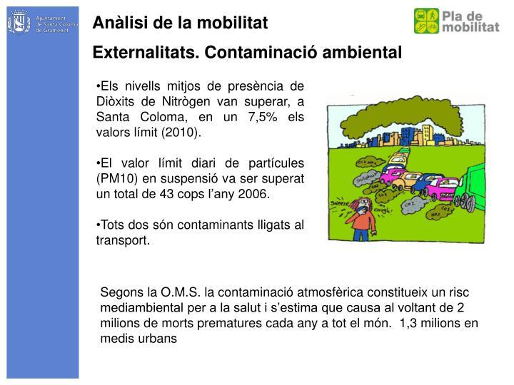 Anàlisi de la mobilitat