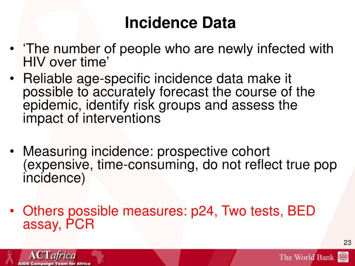 Incidence Data